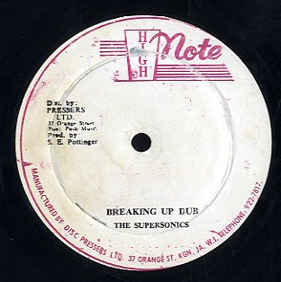 ALTON ELLIS / PAPA RICHIE / THE SUPERSONICS [Breaking Up / Breaking Up Dub]