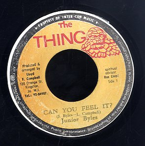 JUNIOR BYLES [Can You Feel It]