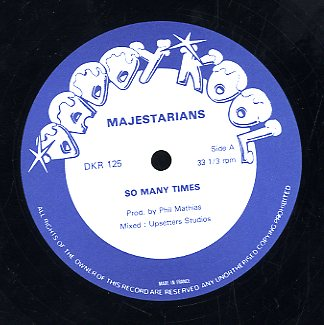 MAJESTARIANS [So Many Time / Flute On Fire]
