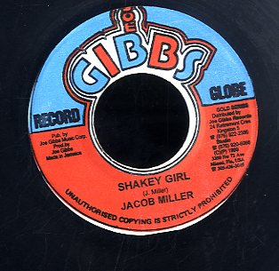 JACOB MILLER [Shakey Girl]
