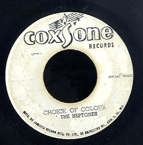 THE HEPTONES / THE ACTIONS [Choice Of Colour / Suckey Get A Blow]