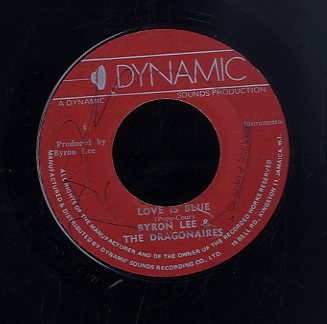 BYRON LEE & THE DRAGONAIRES [Love Is Blue / Elizabeth Serenade]