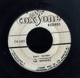 THE HEPTONES [Only Sixteen / Baby]