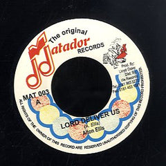 ALTON ELLIS / MATADOR ALLSTARS [Lord Deliver Us / Originator]