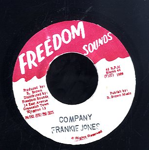 FRANKIE JONES [Company]