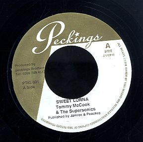 TOMMY MCCOOK / KING SPORTY [Sweet Lorna / Black River]