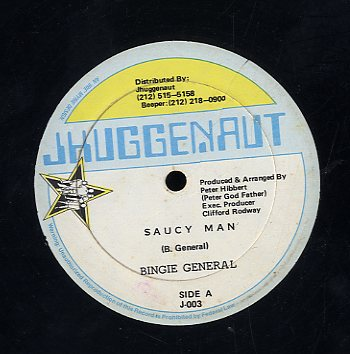 BINGIE GENERAL [Saucy Man]