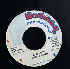 HORACE MARTIN [Geow Now]