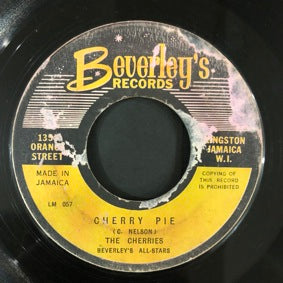 THE CHERRIES / BOB WALLS [Cherry Pie / Remember Where Your From]