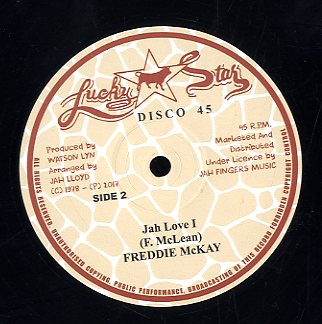 FREDDIE MCKAY [Caught You Red Handed / Jah Love I ]