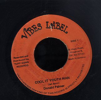 DONALD PALMER [Cool It Youth Man]