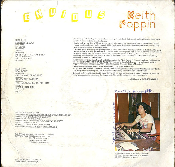 KEITH POPPIN [Envious]