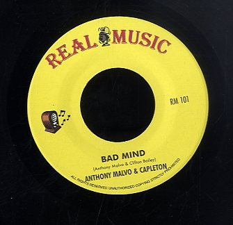 ANTHONY MALVO & CAPLETON / ANTHONY MALVO  [Bad Mind / Greedy Woman]