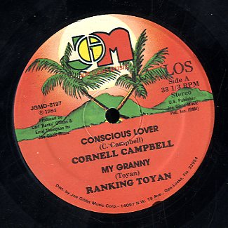 CORNELL CAMPBELL & RANKING TOYAN [Consious Lover]