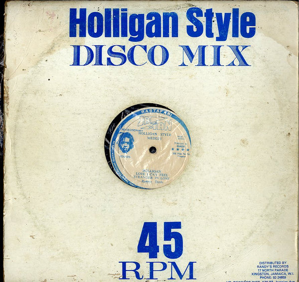 RONNIE DAVIS / I ROY [Hooligan- Love Can I Feel- Strenger In Love / Economic Package]