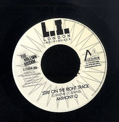 ANTHONY Q / CAPLETON [Stay On The Right Track / Never Let Dem]