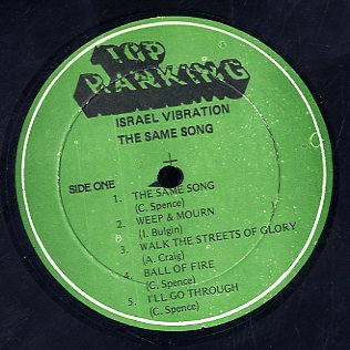 ISRAEL VIBRATION [The Same Song]