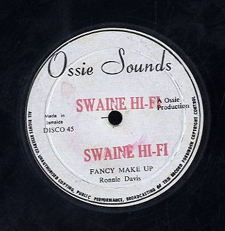 RONNIE DAVIS [Fancy Make Up / Its Swinging Love]