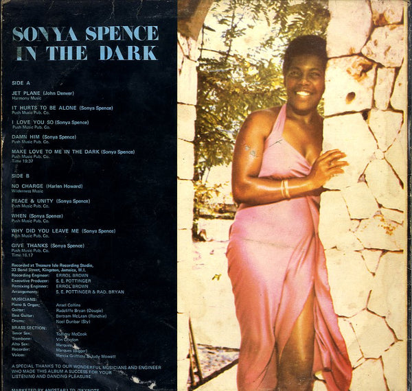 SONIA SPENCE [In The Dark]
