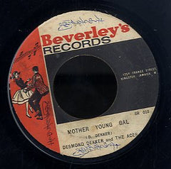 DESMOND DEKKER & ACES / ROLAND ALPHONSO [Mother Young Gal / Jungle Bit ]