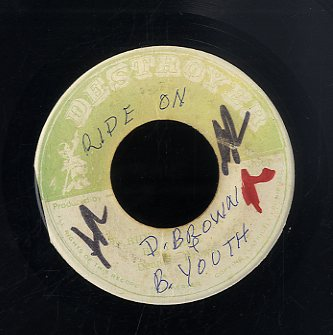 BIG YOUTH & DENNIS BROWN [Ride On Ride On / Wild Goose Chase]