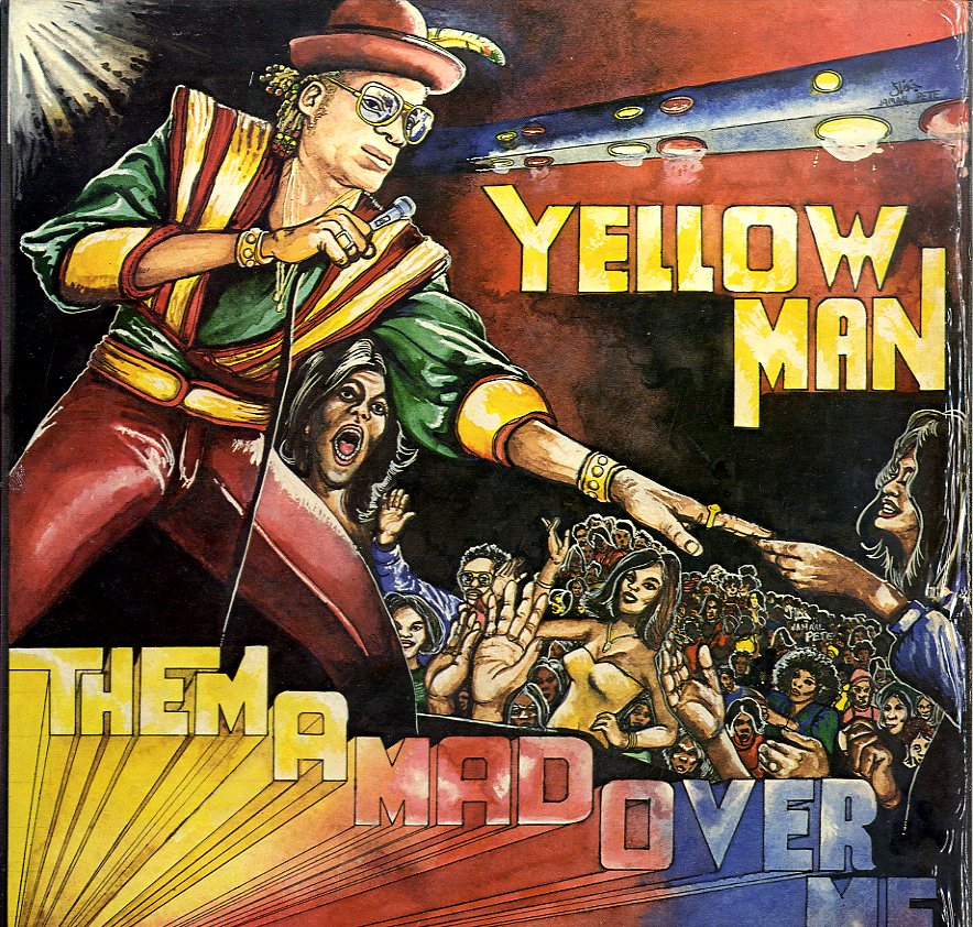 YELLOW MAN [Them A Mad Over Me]