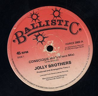 JOLLY BROTHERS / PRODIGAL CREATOR [Concious Man / Life]