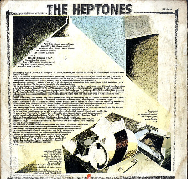 THE HEPTONES [Party Time]