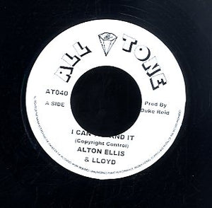 ALTON ELLIS & LLOYD [I Can't Stand It / Estacy]