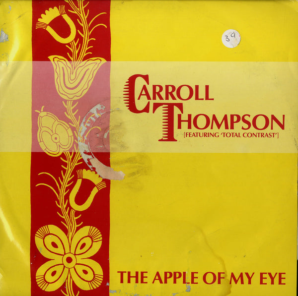 CARROLL THOMPSON FEATURING TOTAL CONTRAST  [The Apple Of My Eye / Songwriters Cramp]