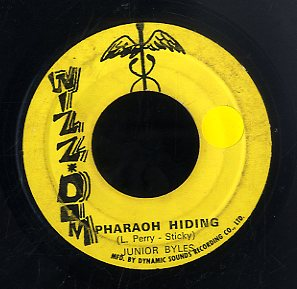 JUNIOR BYLES [Pharaoh Hiding / Hail Top Power]