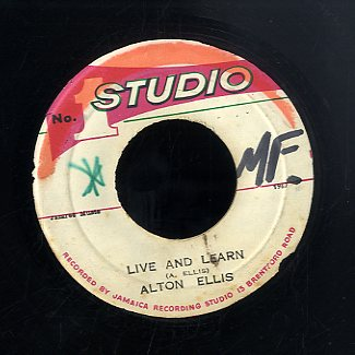 ALTON  ELLIS [Live And Learn ]