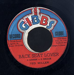 TED MILLER ( JACOB MILLER ) [Back Seat Lover]