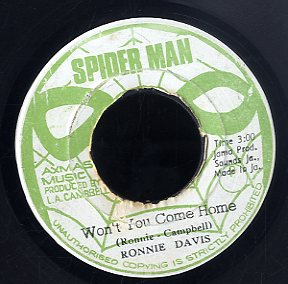 RONNIE DAVIS [Won't You Come Home]