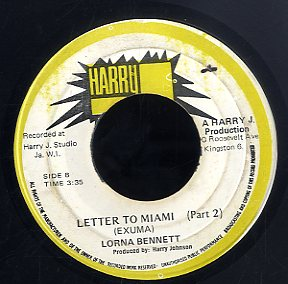 LORNA BENNETT [Letter To Miami / (Part 2)]