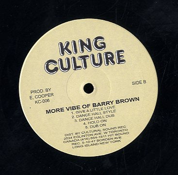 BARRY BROWN & STAMA RANK [More Vibes Of Barry Brown Along With Stama Rank ]