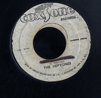 THE HEPTONES [Darling I Love You / I Shall Be Released ]
