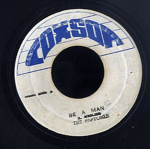 THE HEPTONES [Be A Man / Veresion]