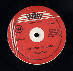 TENOR SAW [No Work On Sunday]