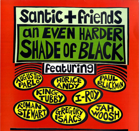 V.A. (A. PABLO, H. ANDY, GREGORY ISAACS, JAH WOOSH, SANTIC ALL STARS...) [An Even Harder Shade Of Black]