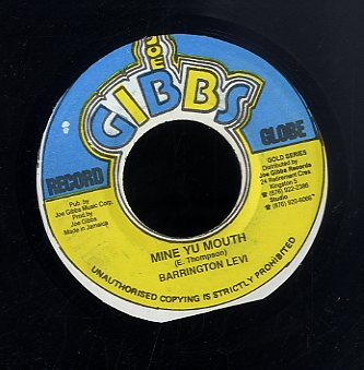 BARRINGTON LEVY [Mine Yu Mouth]