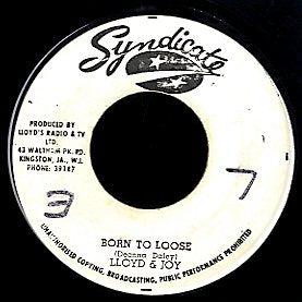 LLOYD & JOY / ALTON ELLIS [Born To Loose / Back To Africa ]