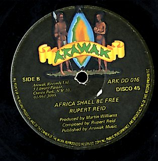 RUPERT REID / GENERAL ECHO [Africa Shall Be Free / Sex Educational Class]
