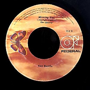 KEN BOOTHE [Second Chance / Missing You]