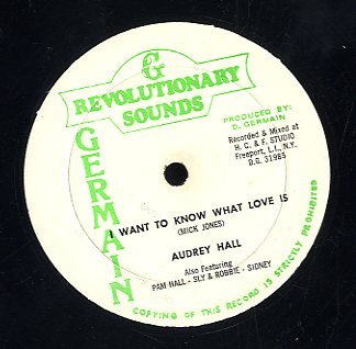 AUDREY HALL [I Want To Know What Love Is]