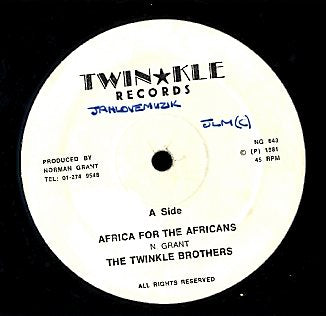 TWINKLE BROTHERS [Africa For The African / Stomsch Sick]