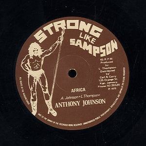 ANTHONY JOHNSON / JAH THOMAS [Africa / Stereograph Style]