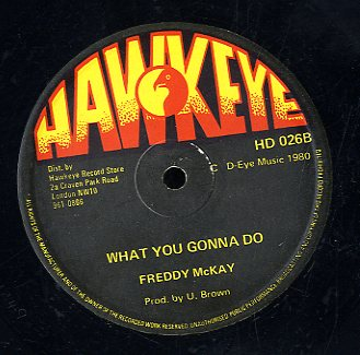 JUNIOR MOORE / FREDDY MCKAY [Lonely Heartaches  / What You Gonna Do]