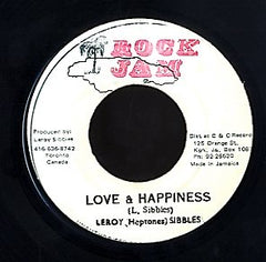 LEROY SIBBLES [Love & Happiness]