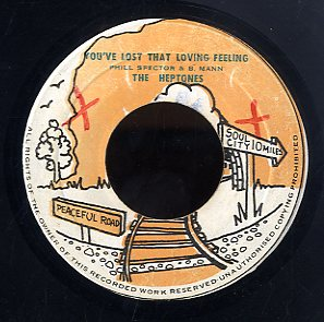 THE HEPTONES  [You've Lost That Loving Feeling ]